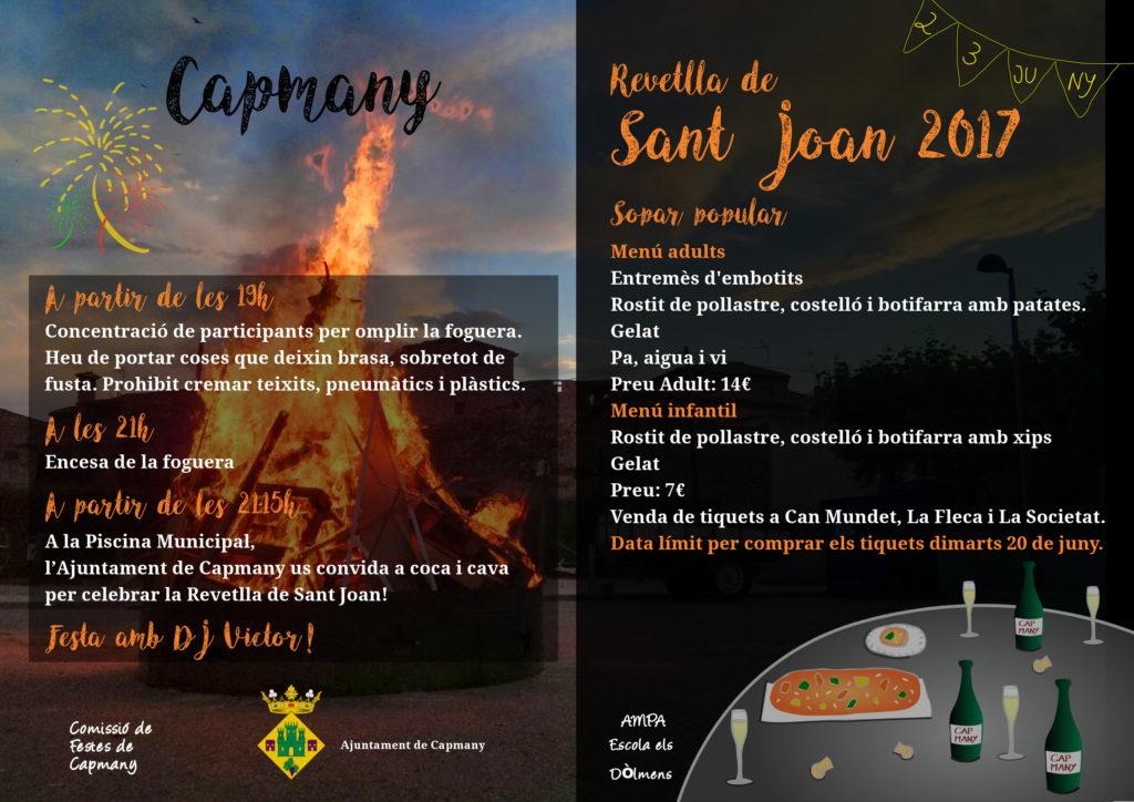 Sant Joan 2017 Capmany